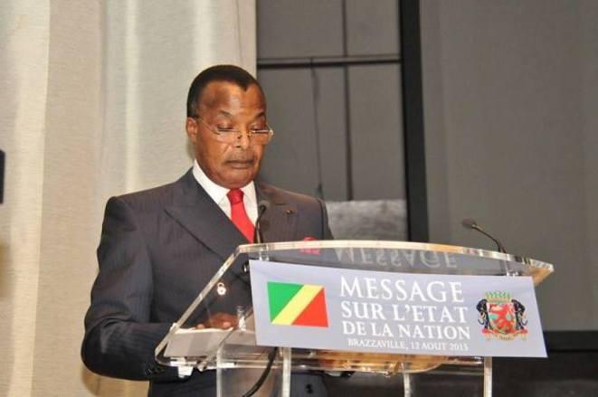 Message de fin d'année : Sassou Nguesso va prononcer un discours devant le parlement réuni en congrès ce samedi à 10 h