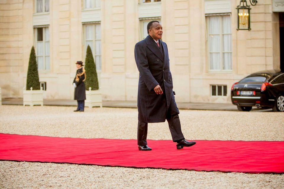 A Paris, Sassou Nguesso ne verra, ni le Président Macron, ni le Premier Ministre Edouard Philippe