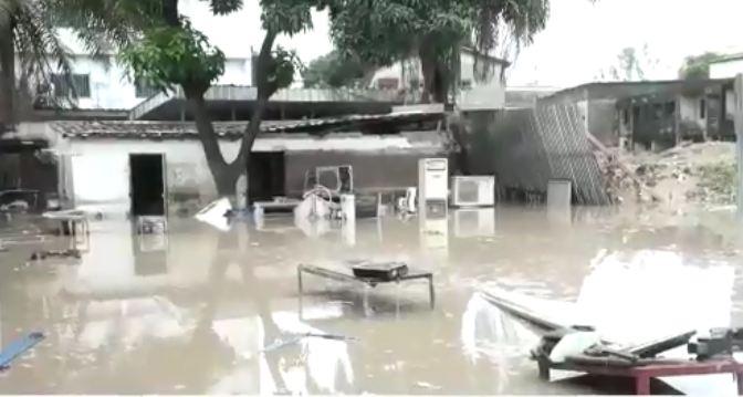 Inondation: Le centre-ville de Brazzaville sous 3 mètres d'eau [Vidéo]