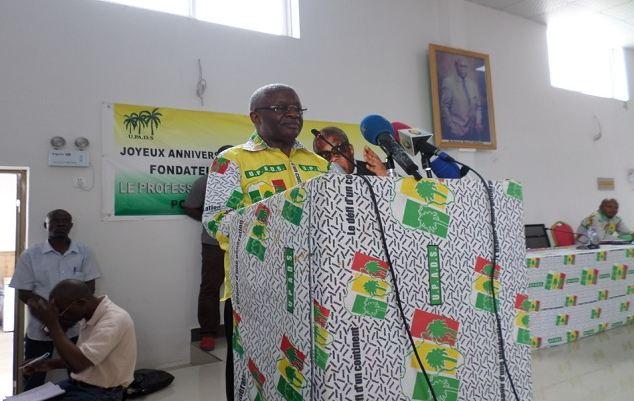 Pascal Tsaty Mabiala : L'UPADS doit cesser d'être considérée comme un parti du grand Niari seulement