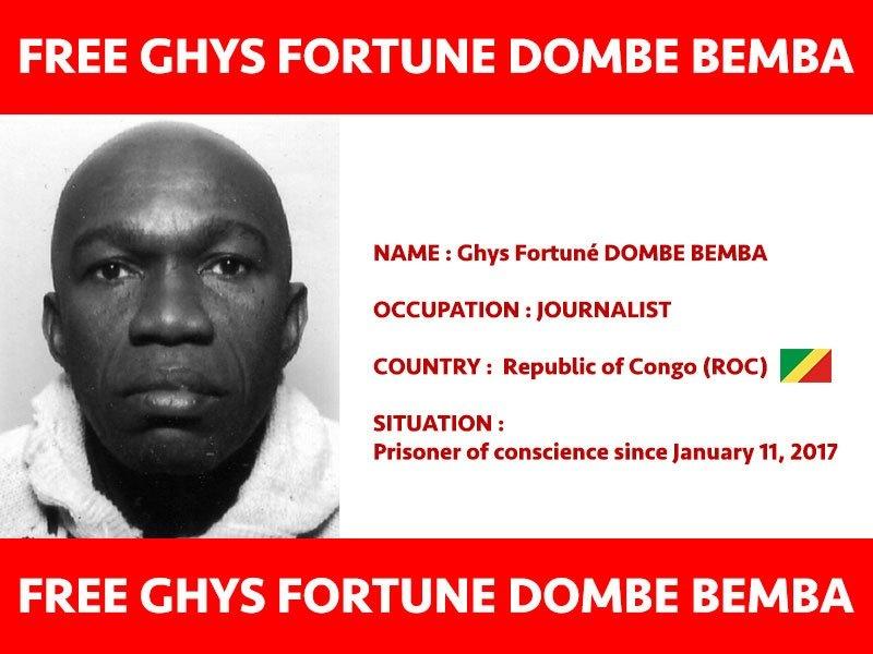 Ghys Fortuné Dombé-Bemba libéré sans jugement