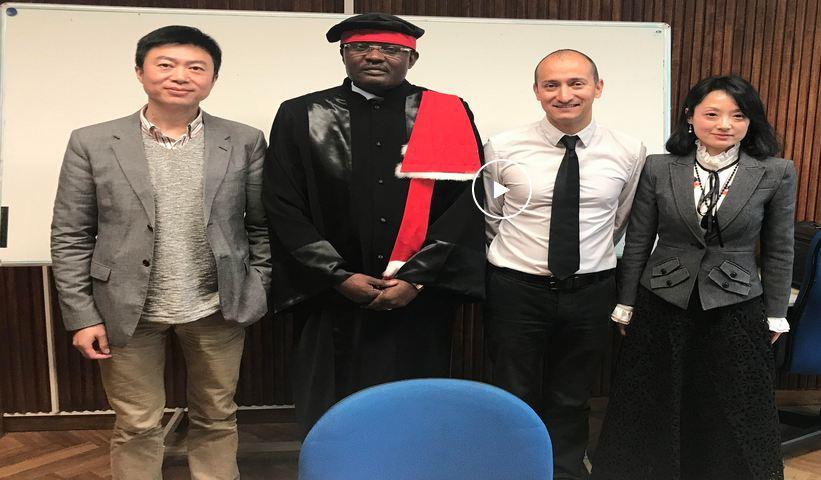 Culture-Nouveau Livre: Michel Innocent PEYA signe «Le Fonds bleu : Mécanisme de financement et de gestion du Bassin du Congo pour la protection de l'environnement mondial » tiré de son mémoire de D.E.S.S.