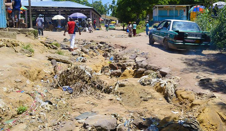 Les populations de Kimpouomo démunies de tout