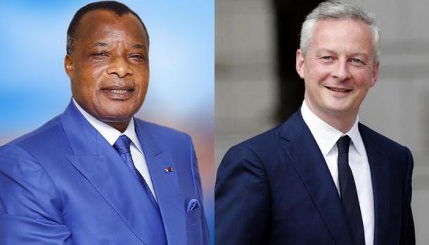 De l'eau dans le gaz entre Paris et Brazzaville