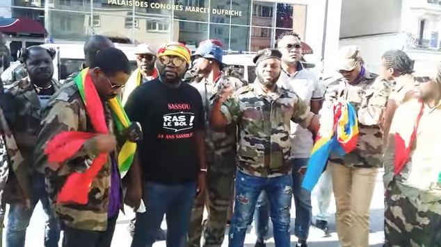 Les combattants vent debout contre le concert de Roga-Roga et Extra Musica à Montreuil
