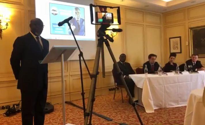 Conférence de presse des avocats du Général Jean Marie Michel MOKOKO