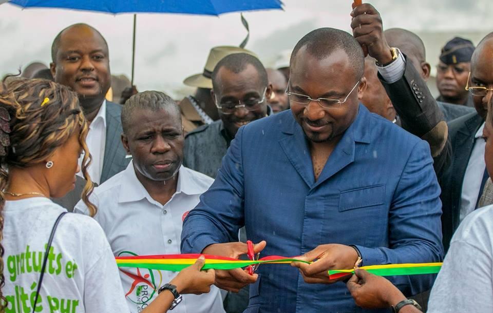 Le vice Président du Congo, Denis Christel Sassou Nguesso continue son tour du Congo