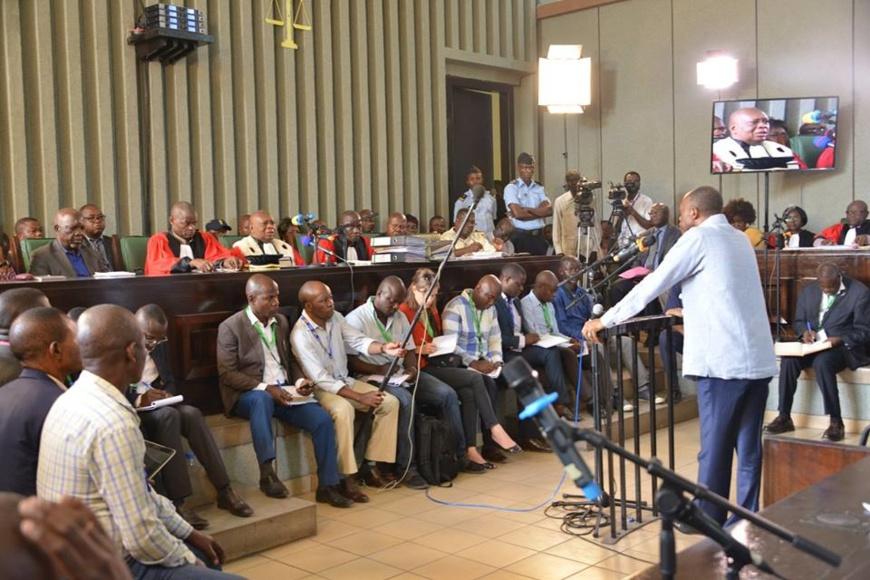 Procès politique du Général Jean Marie Michel MOKOKO – 2e jour d'audience [Vidéo]