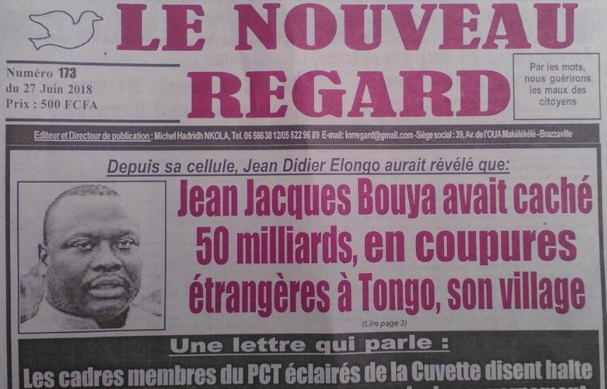 Démenti sur les fake news concernant Jean Didier Elongo