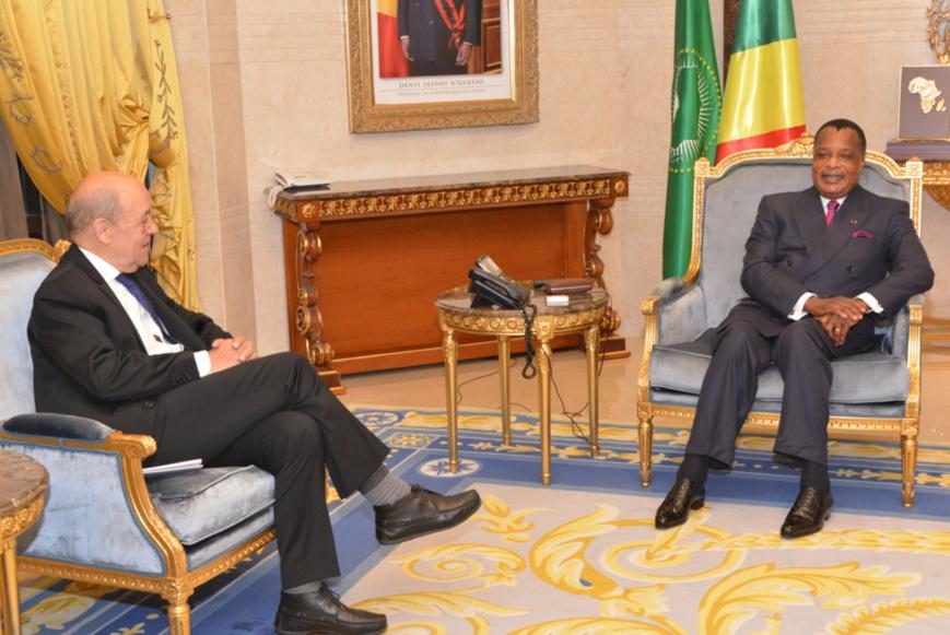 Jean-Yves Le Drian juge les relations entre Paris et Brazzaville «fluides»