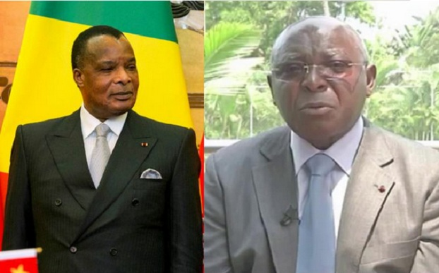 Sassou a failli être dribblé à nouveau par Mboulou, Bininga, Komo et Oba Apounou