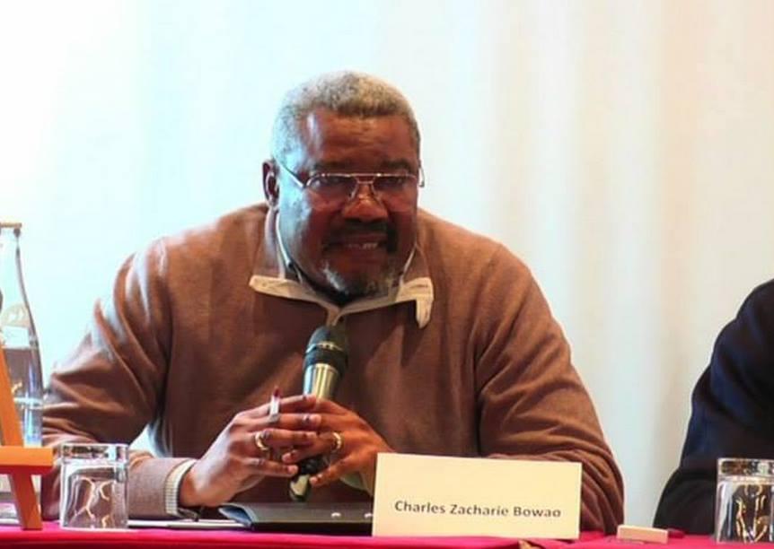 Déclaration du Pr Charles Zacharie Bowao suite aux évènements tragiques de Chacona