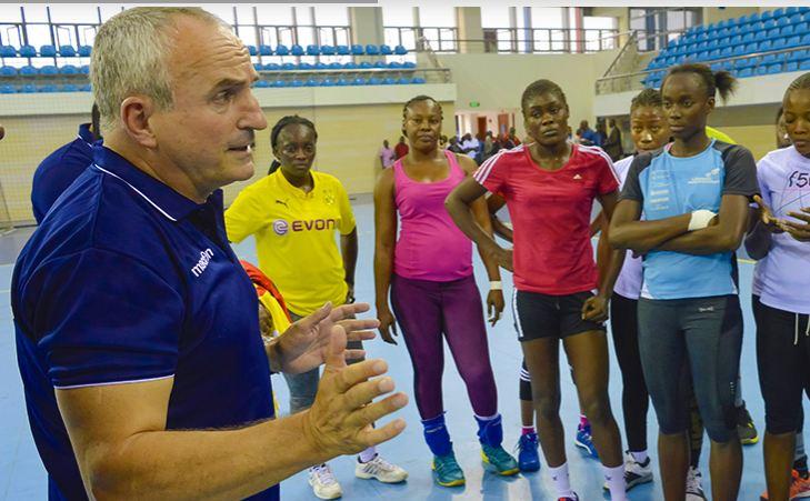 Thierry Vincent nommé entraineur des Diables rouges dames de handball
