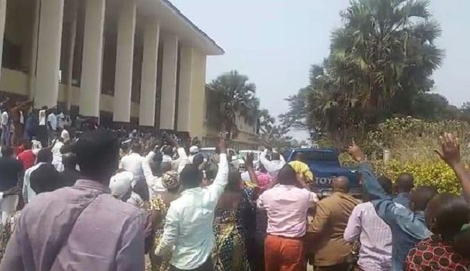 Exclusivité : Images de la libération de André Okombi Salissa
