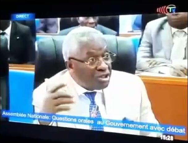 Pascal Tsaty Mabiala étrille Denis Christel Sassou Nguesso à l'assemblée nationale