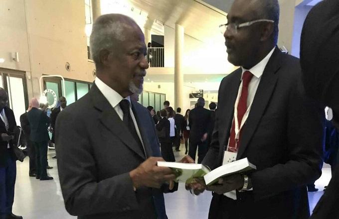 Décès de l'ancien secrétaire général de l'ONU Kofi Annan : réaction et témoignage de l'écrivain congolais Michel Innocent Peya