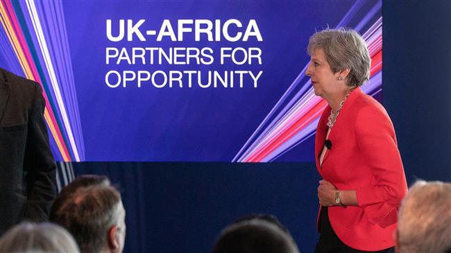 La nouvelle forme de drague Britannique en Afrique : un bouclier britannique pour l'Afrique, dit FOB !