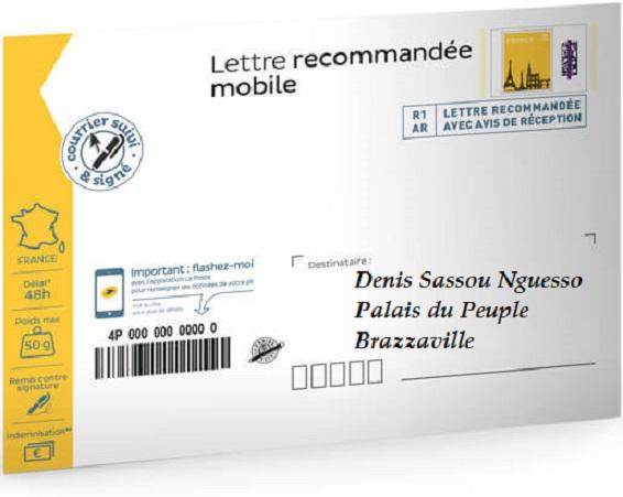 Lettre de l'Abbé Brice Ruffieux Bahouamio au Président Denis Sassou Nguesso