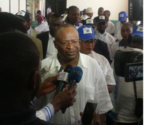 Allocution du Président de l'UDH-YUKI, Guy Brice Parfait Kolelas à l'occasion de la sortie officielle des organisations spécialisées de son parti