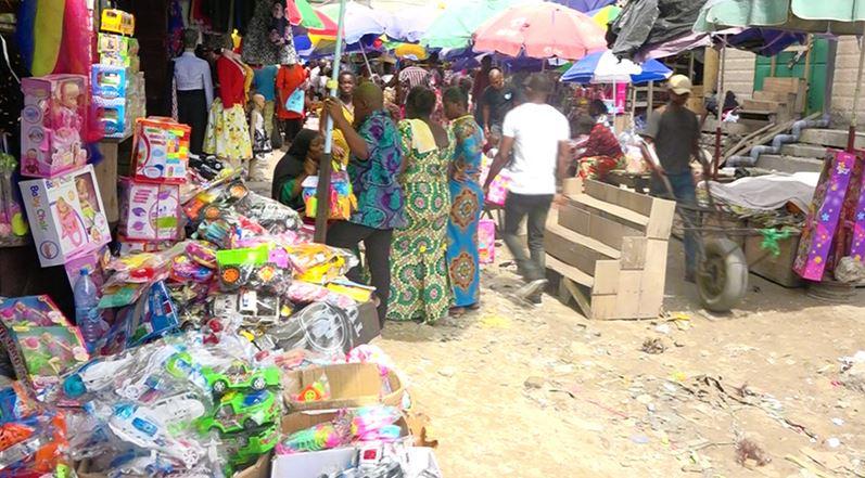 La vente des jouets est encore timide dans les marchés de Brazzaville