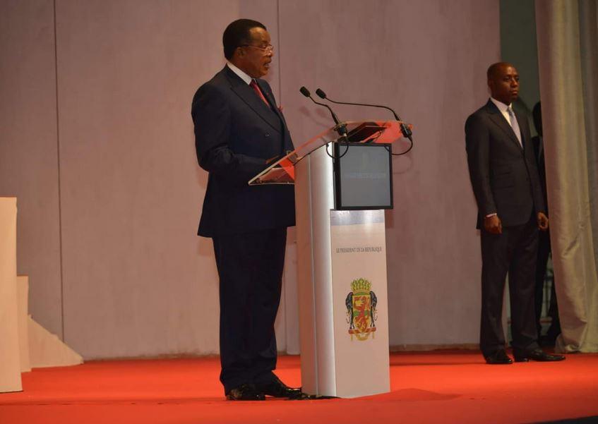Message du Président Denis Sassou Nguesso devant le parlement réuni en congrès
