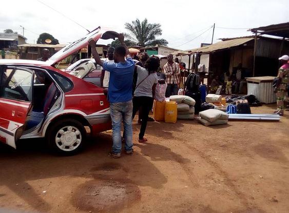 Dolisie: Les transporteurs de la route nationale numéro 3 victimes de l'arnaque de la force publique