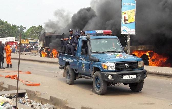 Dolisie : Affrontements entre policiers et lycéens