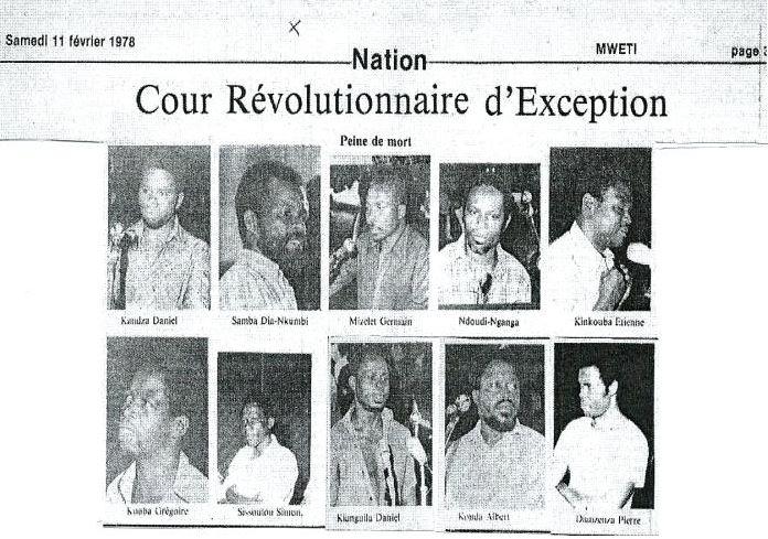 Devoir de mémoire: 41 ans après l'exécution des compagnons de prière d'Alphonse Massamba-Débat