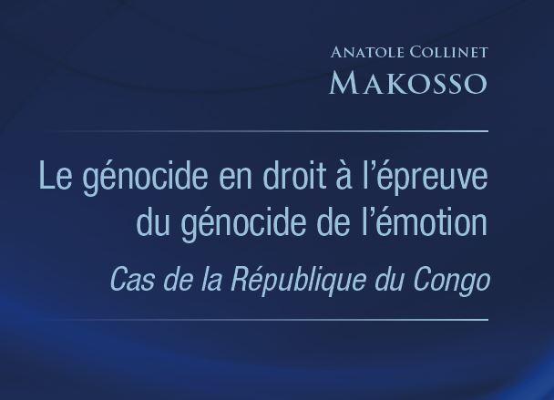 Parution : Le Ministre Collinet Makosso répond à Dominique Kounkou sur le génocide des Laris