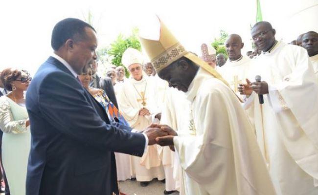 Quand Sassou exploite l'église catholique à ses fins bestiales !