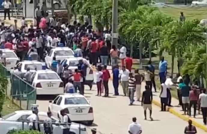 Répression des étudiants Congolais de Cuba par la Police