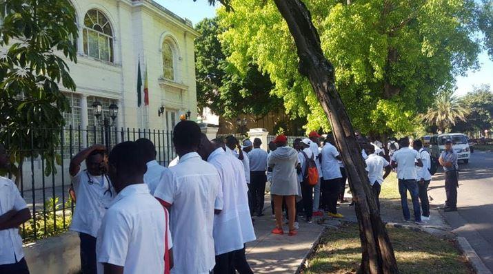 Les étudiants congolais réprimés par des policiers cubains en mission commandée