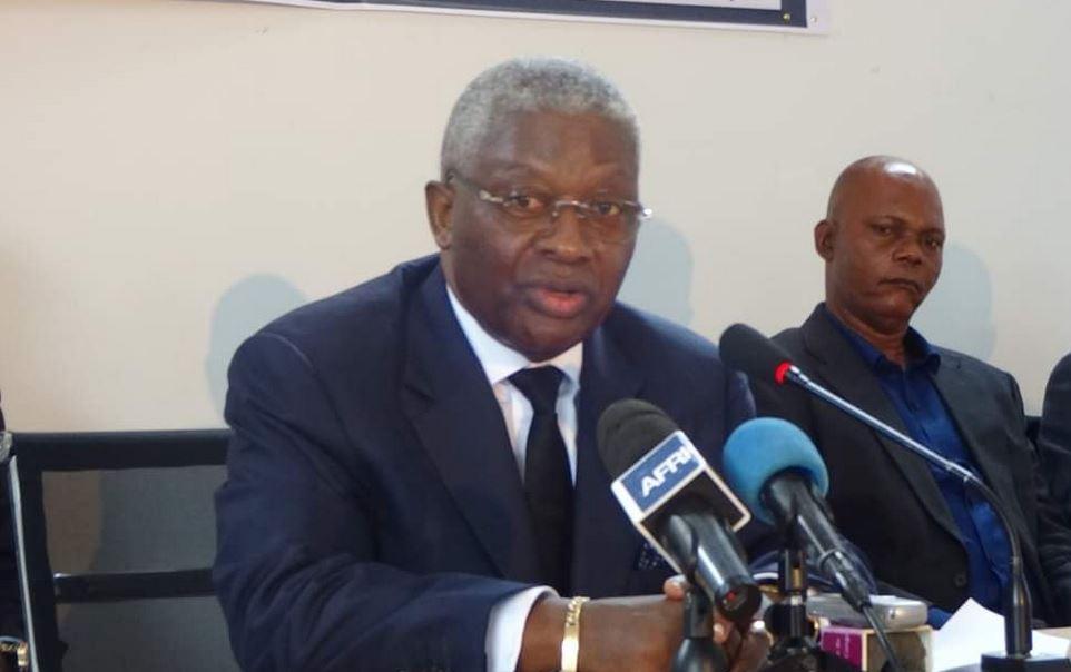 Conférence de presse de l'opposition politique congolaise : Mot de Pascal Tsaty Mabiala