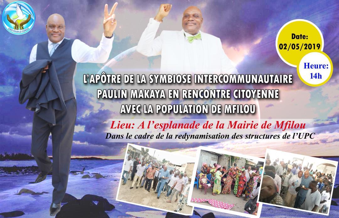 Descente de Paulin MAKAYA à Mfilou, ce dimanche 02 juin 2019