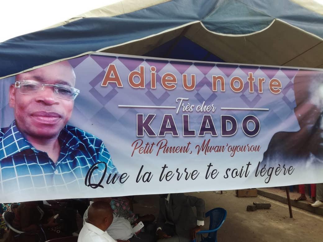 Images des obsèques du vaillant combattant Augustin Kala Kala