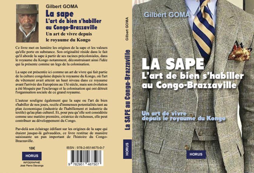 Gilbert Goma publie la SAPE, l'art de bien s'habiller au Congo-Brazzaville