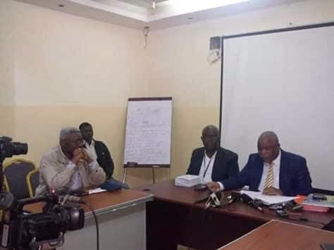 Fédération de l'opposition congolaise: Conférence de presse du 27 juillet 2019