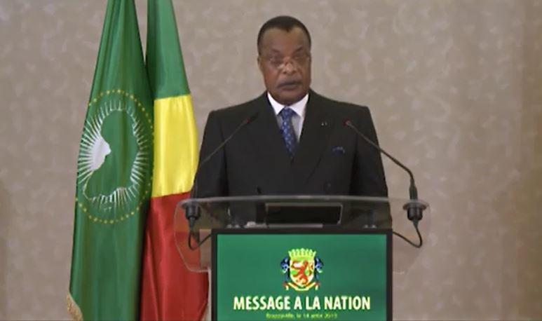 Discours à la nation de l'année 2019 de M. Sassou Nguesso Denis