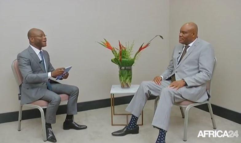 Le Talk – Africa 24 : Paulin Makaya, Président du parti Unis pour le Congo