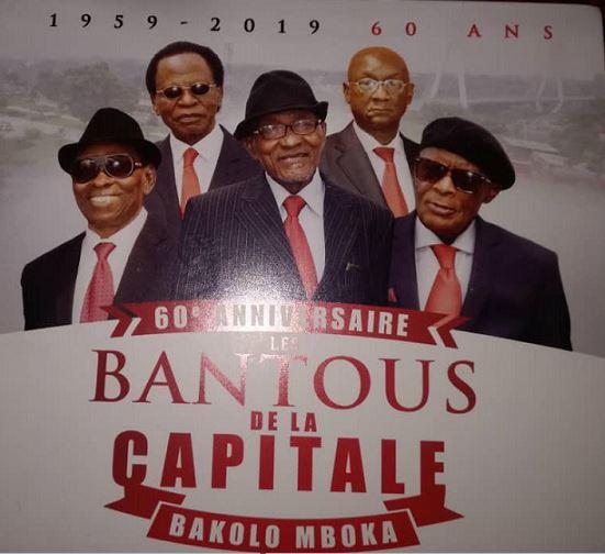 60eme Anniversaire : un nouvel album des Bantous de la capitale dans les bacs