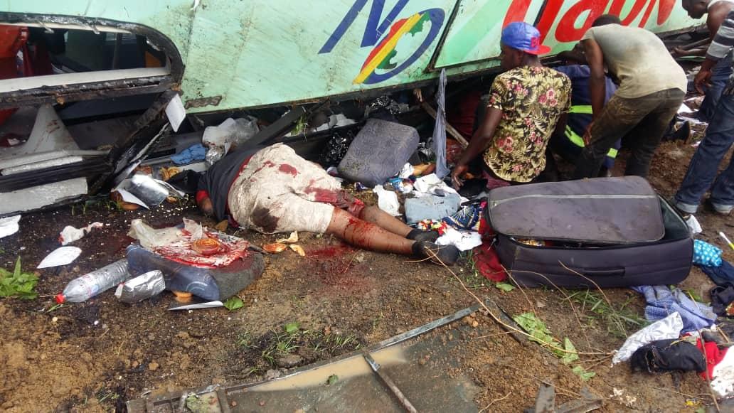 Accident près de Dolisie : Les dix plaies d'Égypte sont bien là !