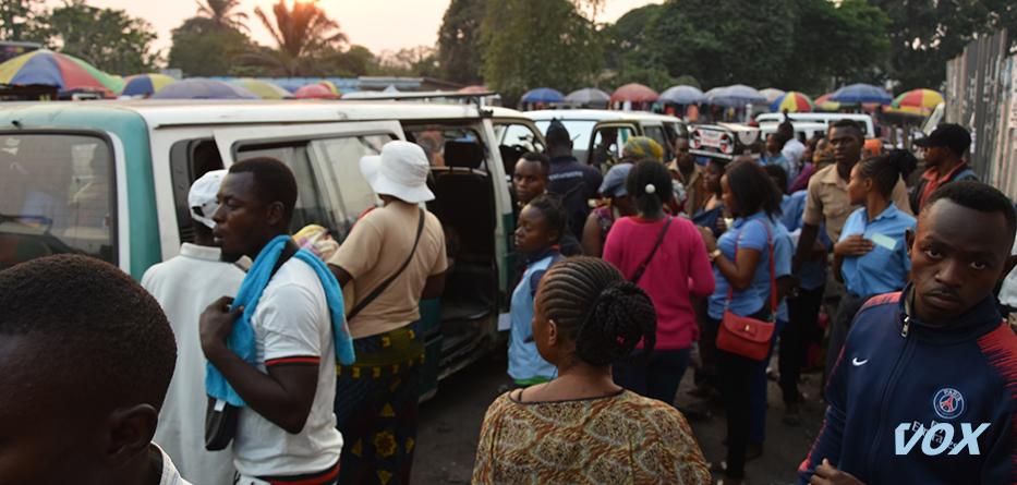 Le bus passe à 250 F CFA entre le marché total et la mairie de Mfilou