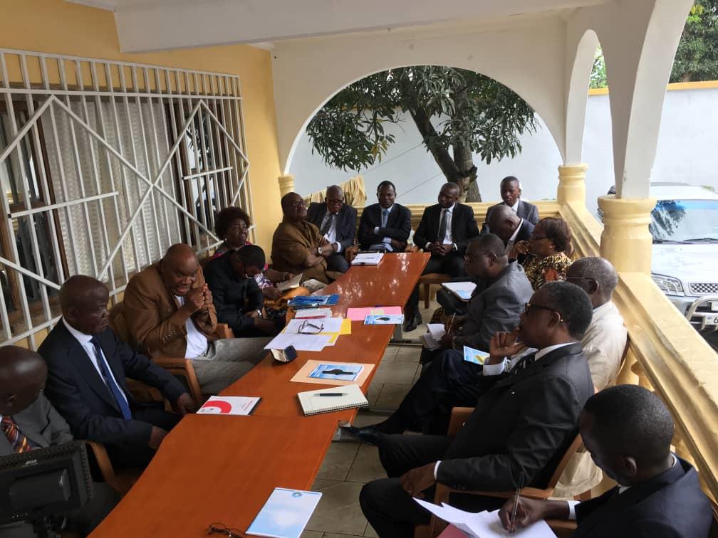 Rencontre entre l'UPC et le bureau du Conseil National du Dialogue