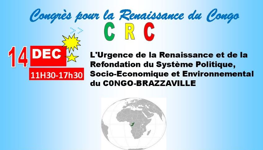 14 Décembre 2019 : Sortie officielle du Congrès pour la Renaissance du Congo (CRC)