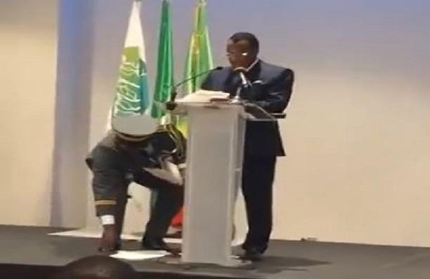 Sassou Nguesso le vieux Otchombé est vraiment dans la panade