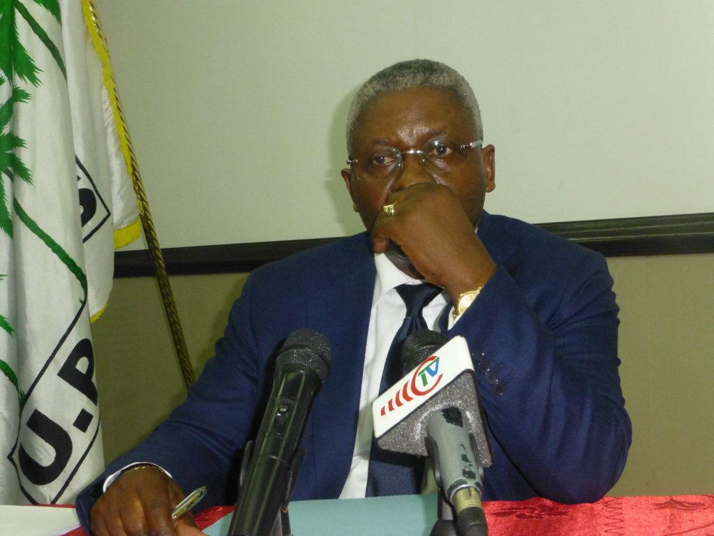Conférence de presse de M. Pascal Tsaty Mabiala : Propos liminaire
