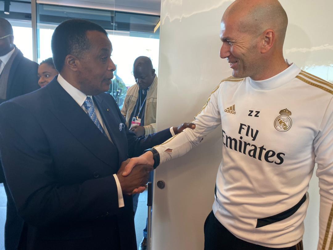 Sassou Nguesso, un congolais en tourisme à Madrid