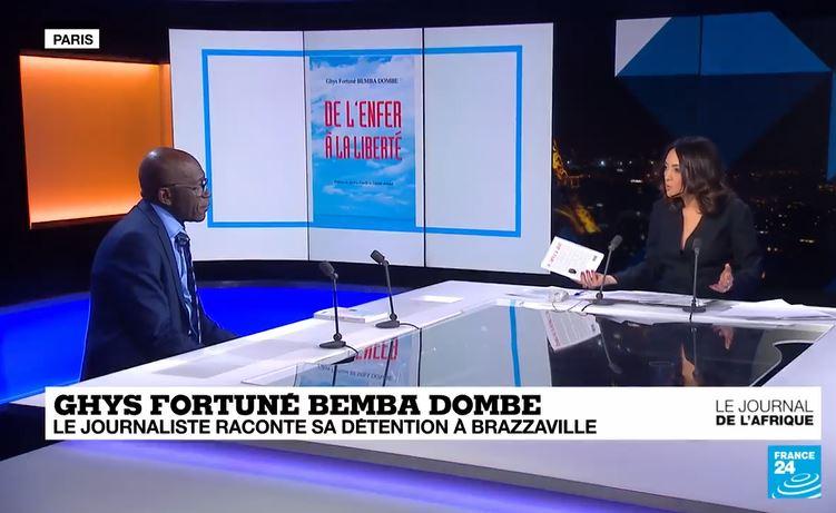 Ghys Fortuné Bemba Dombe raconte dans son livre sa détention à la maison d'arrêt de Brazzaville