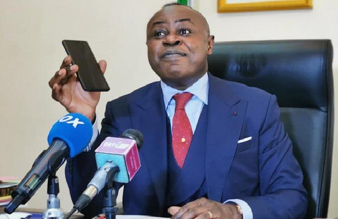 Le ministre congolais des Télécoms Léon Juste Ibombo au centre d'une polémique suite à la coupure Internet du 16 janvier