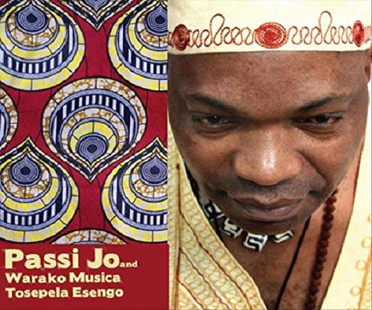 «Tosepela Esengo», l'album posthume de PASSI JO réalisé par Pamela Kleemann Passi à  Melbourne (Australie)